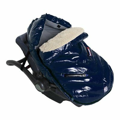 7 A.M. ENFANT Polar Igloo Extendable Baby Bunting Bag Oxford Blue - Small & Med