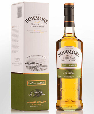 Bowmore Small Batch Bourbon Cask Matured Single Malt Scotch Whisky (700ml)