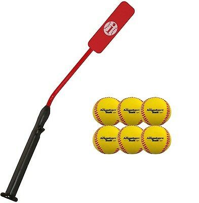 (1 Bat & 6 Balls) - Insider Bat Size 7 (Ages 12 and Up) & Anywhere Ball