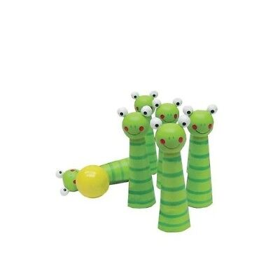 Kid's Frog Bowling Pin Game Set. Sassafras. Delivery is Free