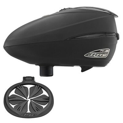 Dye Rotor R2 Electronic Paintball Loader & Quick Feed Combo - Black