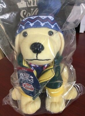"""Raising Canes 2017 Kevin Home Alone 2 Lost In New York Plush 8"""" Dog Nip Cute!!!!"""