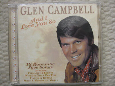 TOP-CD Glen Campbell: And I love you so - NEU