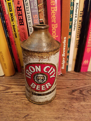 Iron City 12oz Cone Top Beer Can