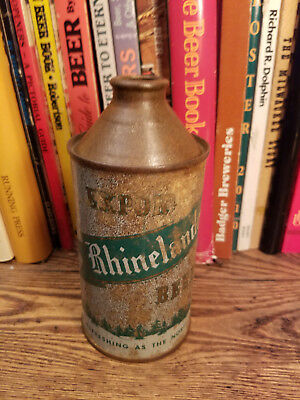 Rhinelander Export 12oz Cone Top Beer Can