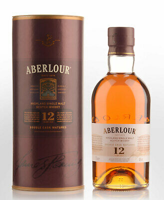 Aberlour 12 Year Old Double Cask Matured Single Malt Scotch Whisky (700ml)