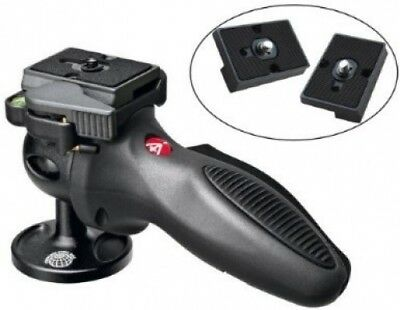 Manfrotto 324RC2 Light Grip Joystick Tripod Ball Head with Two Replacement