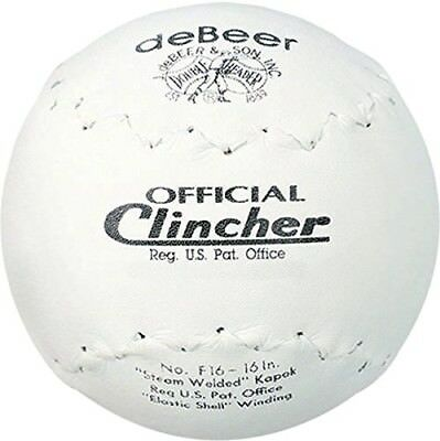 Worth F16 Debeer 41cm Trutech Leather Cover Official Clincher Stamped White Ball