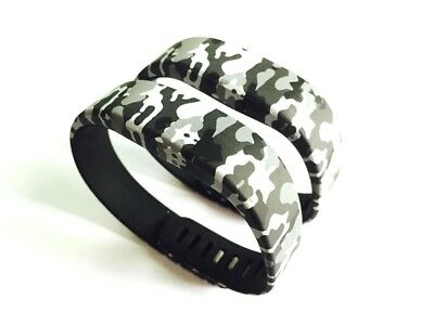 BSI 2pcs Replacement Silicone Strap Bands Camouflage Colour Design For Sony