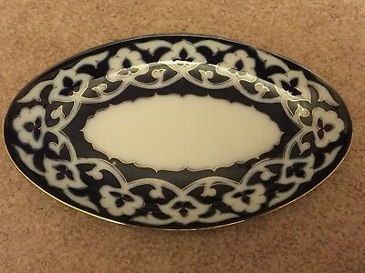 BEAUTIFUL TRADITIONAL UZBEK Oval shape gold pakhta plate