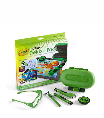 Crayola DigiTools Deluxe Pack - Digitales Mal-Set für Tablets, Griffin