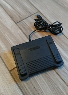 INFINITY IN-USB-1 USB Transcription Foot Pedal Dictation Control TESTED!