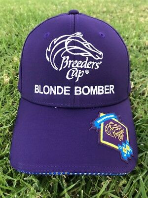 Official 2017 Blonde Bomber Breeders' Cup Hat