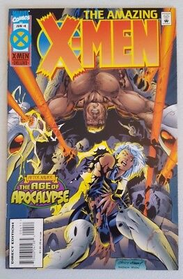 Amazing X-Men #4 of 4 1995 Age of Apocalypse Marvel Comics VF