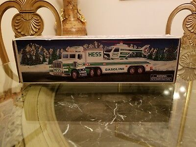 1995 Hess Toy Truck and Helicopter New in Box