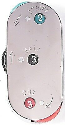 Markwort Metal 3-Dial Umpire Indicator. Delivery is Free