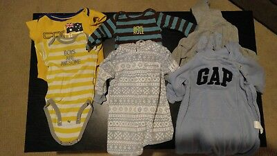 baby clothing lot of 36 boys 3-6,6-9 months
