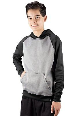 (Small, Black) - Covalent Activewear Youth Ringer Hoody. Brand New