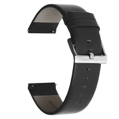 (Large, Black) - Austrake Replacement Leather Bands Large wristbands for