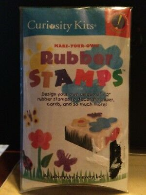 Curiosity Kits Make Your Own Rubber Stamp Kit