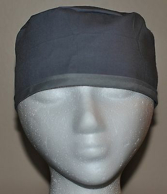 Men's Scrub Cap/Hat Solid Gray - One size fits most