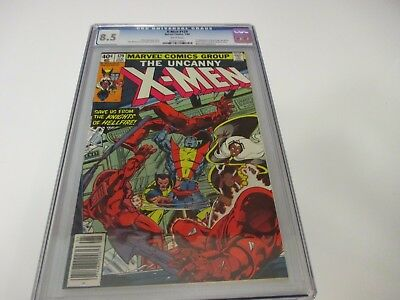 The Uncanny X-Men #129 CGC 8.5 1ST APPEARANCE OF KITTY PRYDE & EMMA FROST
