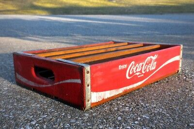 Vintage Edwards & McGehee Coca-Cola Crate from around 1970