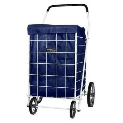 Grocery Laundry Bag Shopping Carts Trolley Rolling Basket Foldable Waterproof