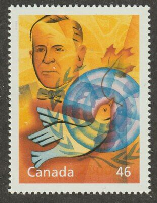 CANADA 2000 Millenium coll. #1825c Humanitarians & Peacekeepers (Pearson) MNH