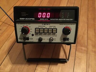 Sencore LC75 Z-Meter 2 Capacitor-Inductor Analyzer