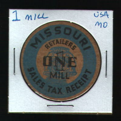 MISSOURI  Tax Token - 1 MILL - 38mm