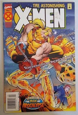 Astonishing X-Men #2 of 4 1995 Age of Apocalypse Marvel Comics VF