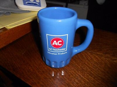 Vintage AC Rochester Oil Filter Blue Coffee Mug Cup  Filtration products