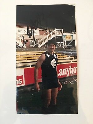 Carlton Signed Photo Mike Fitzpatrick
