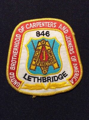 United Brotherhood of Carpenters and Joiners of America - Lethbridge patch