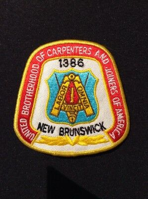 United Brotherhood of Carpenters and Joiners of America - New Brunswick patch