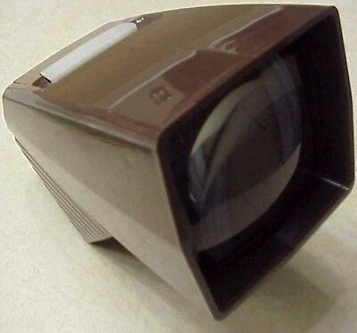 GAF Pana-Vue 1 Lighted 2 x 2 slide Viewer with Box and Manual (NOS)