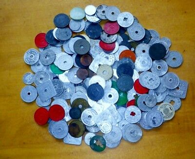 Vintage Sales Tax Tokens Mixed Lot