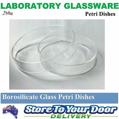 90mm / 150mm BOROSILICATE GLASS PETRI DISHES With COVER