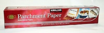 Kirkland Signature Non Stick Parchment Paper 19sqm (Pack of 2). Free Shipping