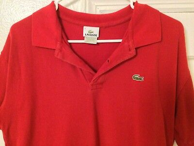 6 Polo Shirts together in Color Size Medium Ralph LR Nautica Michel Kors Lacoste