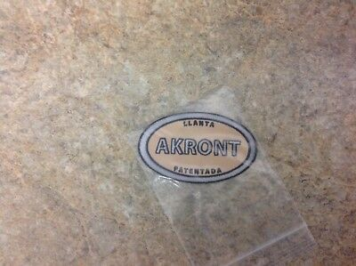 Akront Motorcycle Patch