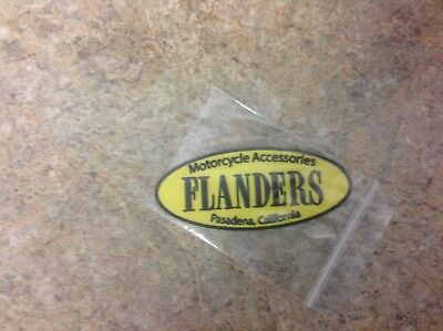 Flanders Motorcycle Patch