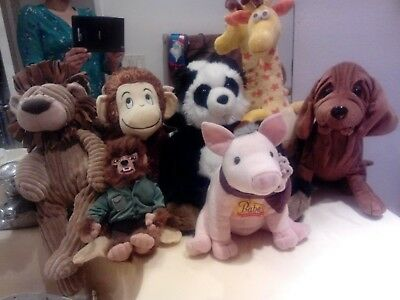 Your choice of animal plush $5.99each or make offer for the whole lot bunch