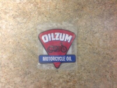 Oilzum Motorcycle Oil Patch