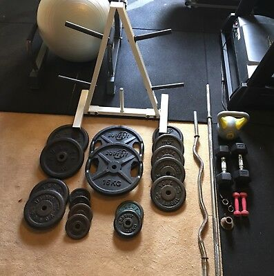 Bulk Lot Weights (Weight Plates) And Bars
