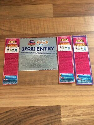 4 X 2 For 1 Vouchers For Alton Towers
