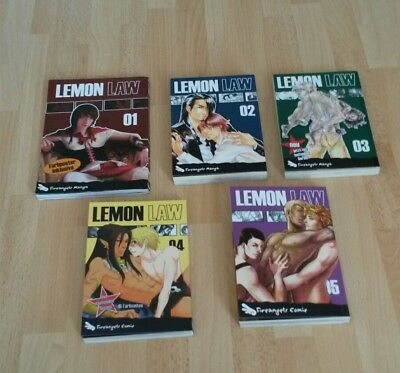 Lemon Law Boys Love Manga's Band 1-5