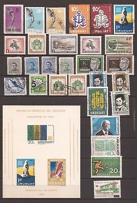 Uruguay  -  Lot Of Stamps  -  2 Images