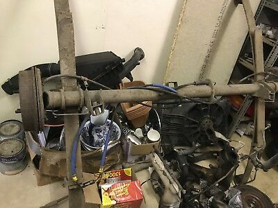 Ford Escort Van 18TD Rear Braked Axle 1998 2002 Mk6 Ideal Trailer Project